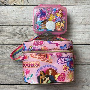Disney Princess Food Container & Lunch Box Set